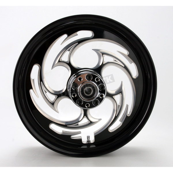 RC Components Black 16 x 3.5 Savage Eclipse One-Piece Wheel  - 16350-9970-85E