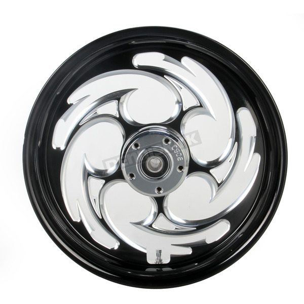 RC Components Black 16 x 3.5 Savage Eclipse One-Piece Wheel  - 16350-9978-85E