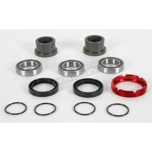 Pivot Works Rear Watertight Wheel Collar and Bearing Kit - PWRWC-H04-500