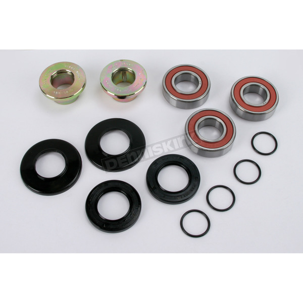 Pivot Works Rear Watertight Wheel Collar and Bearing Kit - PWRWC-K03-500
