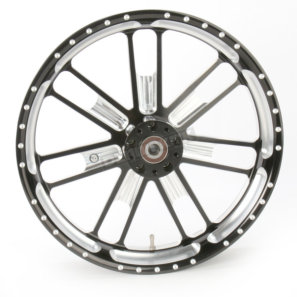 Roland Sands Design 23 in. x 3.5 in. Slam One-Piece Contrast-Cut Aluminum Wheel for Models w/ ABS  - 12047306RSLMBM