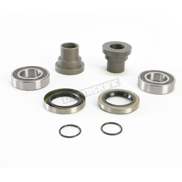 Pivot Works Rear Watertight Wheel Collar and Bearing Kit - PWRWC-T01-500