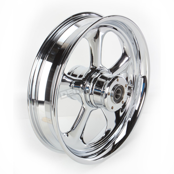 RC Components Front 16 in. x 3.5 in. Nitro One-Piece Forged Aluminum Chrome Wheel - 16350-9917-92C