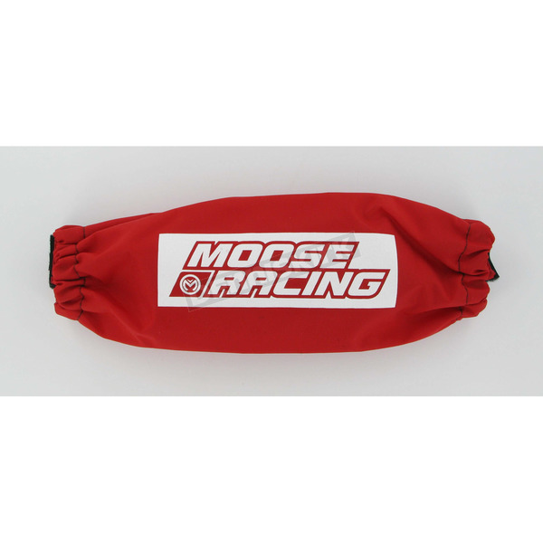 Moose Rear Red 11 3/4 in. Shock Cover - MUDS18