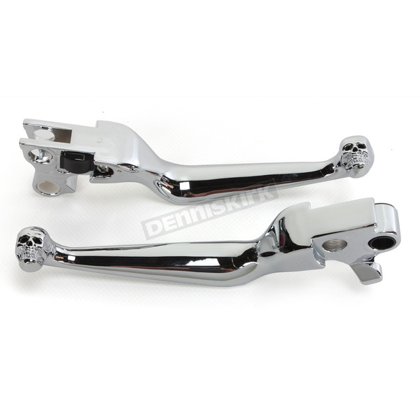 Drag Specialties Skull Lever Set - 0610-0145