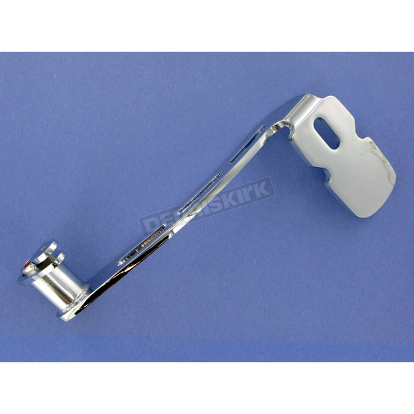 Kuryakyn Chrome Girder Style Extended Brake Pedal for Footboard Equipped Models - 1071