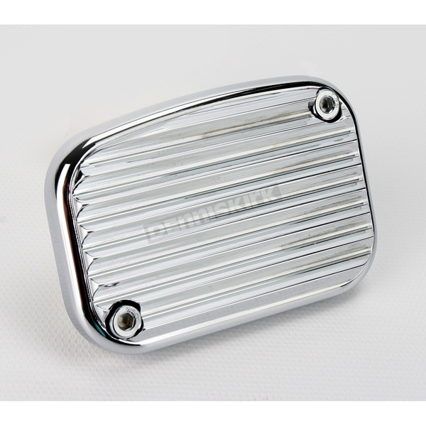 Arlen Ness Front Chrome Retro Brake Master Cylinder Cover - 03-449