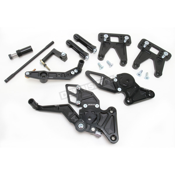 Driven Racing D-Axis Rearset - DRP-502-BK