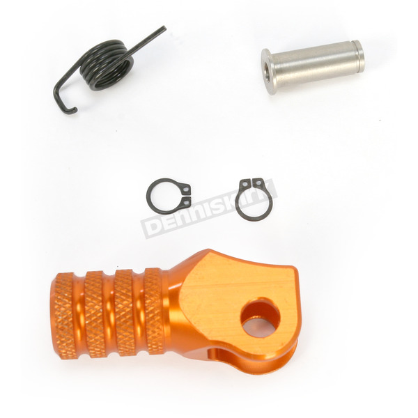 Hammerhead Designs Orange +5mm Knurled Shift Tip - 01-0000-04-40