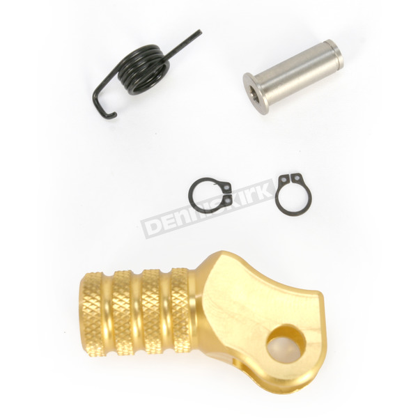 Hammerhead Designs Gold +10mm Knurled Shift Tip - 01-0000-06-50