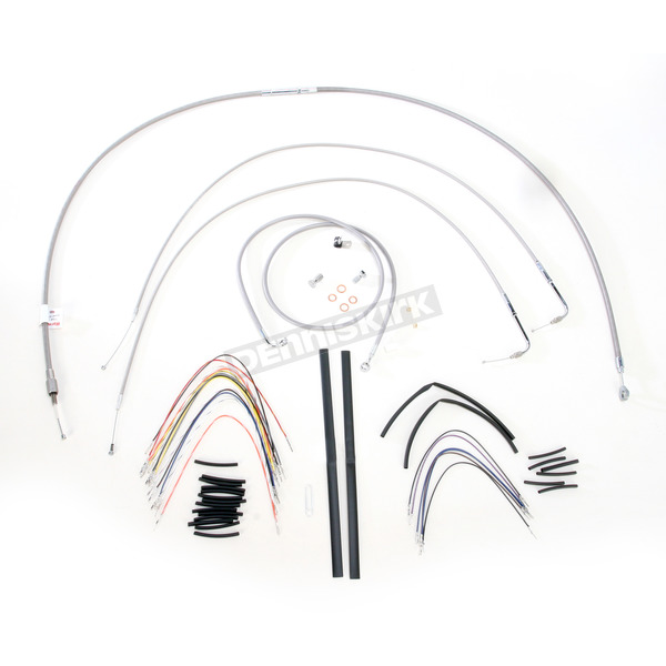 Burly Brand Braided Stainless Steel Cable/Line Kit - B30-1056