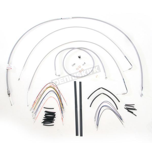 Burly Brand Braided Stainless Steel Cable/Line Kit - B30-1060