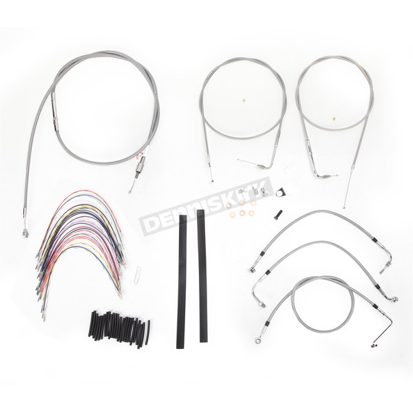 Burly Brand Braided Stainless Steel Cable/Line Kit - B30-1081