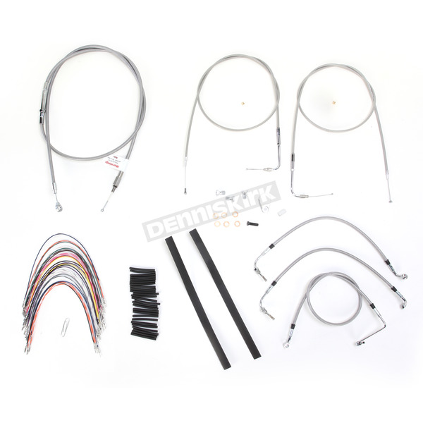 Burly Brand Braided Stainless Steel Cable/Line Kit - B30-1085