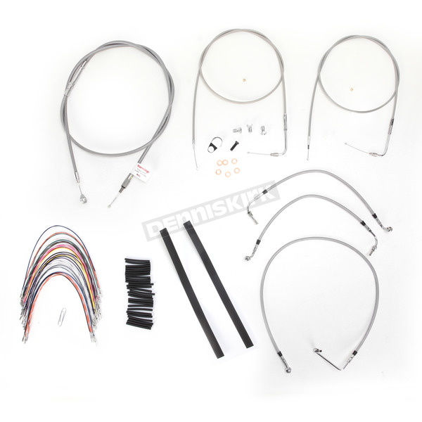 Burly Brand Braided Stainless Steel Cable/Line Kit - B30-1087
