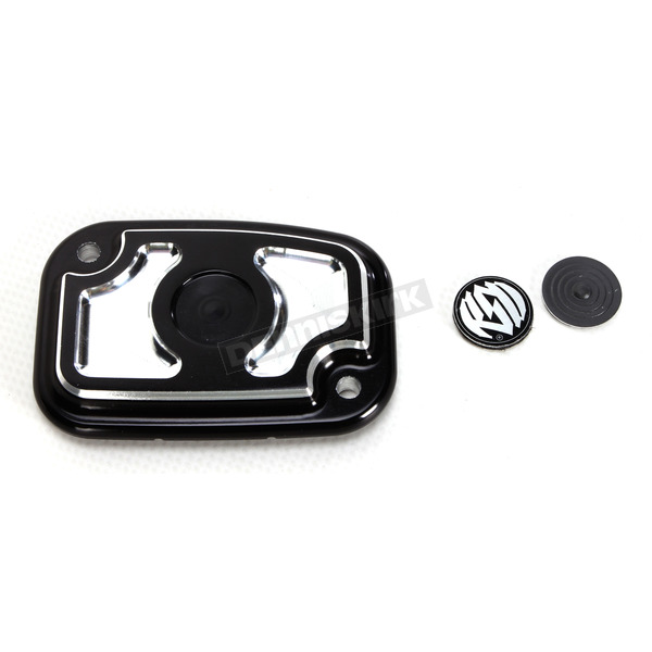 Roland Sands Design Contrast Cut Cafe Clutch Master Cylinder Cover - 0208-2116-BM