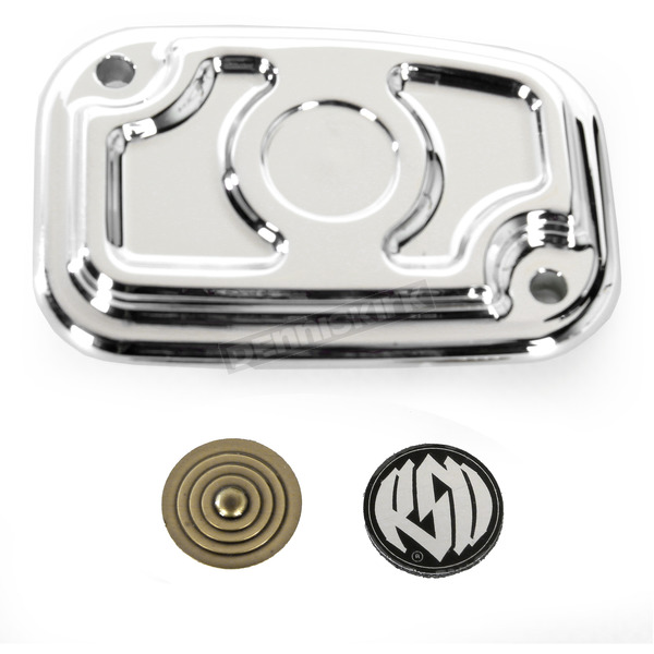 Roland Sands Design Chrome Cafe Clutch Master Cylinder Cover - 0208-2116-CH