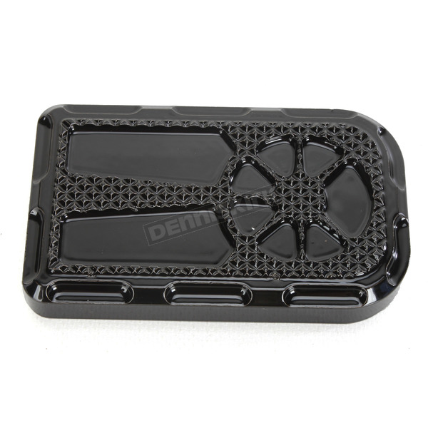 LA Choppers Decadent Black Powdercoat  Brake Pedal Cover - LA-F420-00B