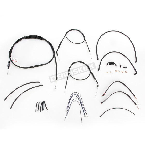 Burly Brand 12 in. Handlebar Installation Kit w/ABS - B30-1121