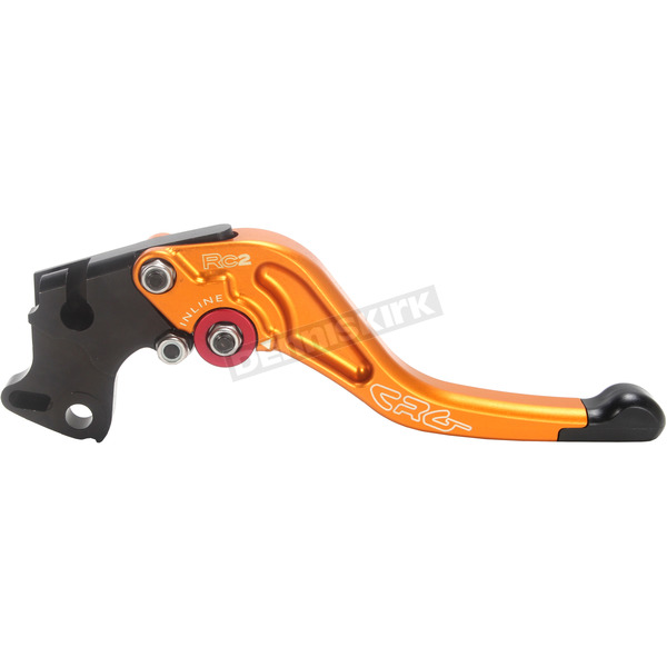 Constructors Racing Group Gold RC2 Shorty Length Clutch Lever - 2AD-621-H-G