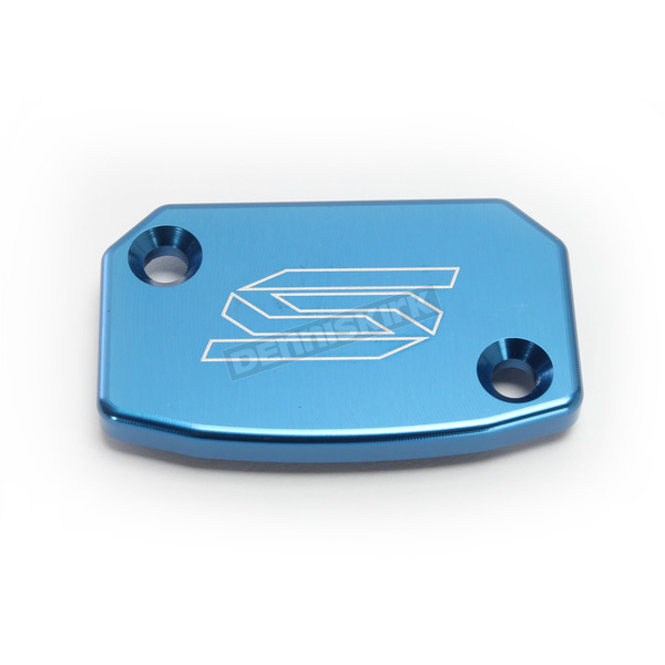 Scar Blue Front Brake Reservoir Cover - 5801B