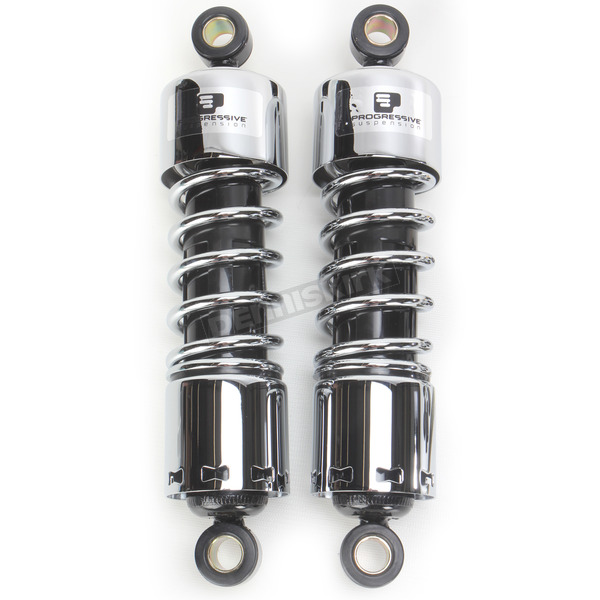 Progressive Suspension Chrome 412 Series 11
