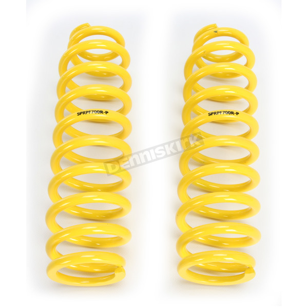 High Lifter Front Yellow Shock Springs - SPRPF700R