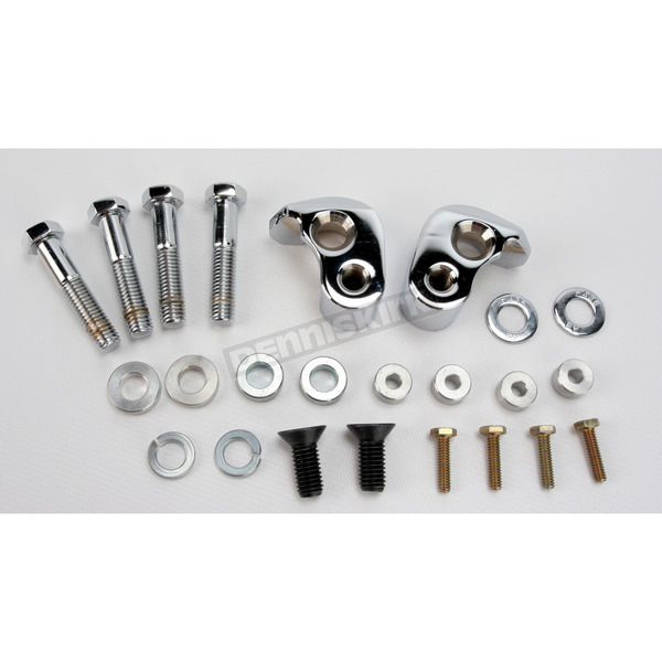LA Choppers Chrome Lowering Kit - 1 in. Lower Than Stock - LA-7590-00