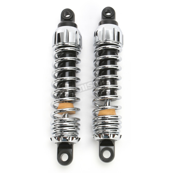 Progressive Suspension Chrome Standard 444 Series Shocks - 95/130 Spring Rate (lbs/in) - 444-4061C