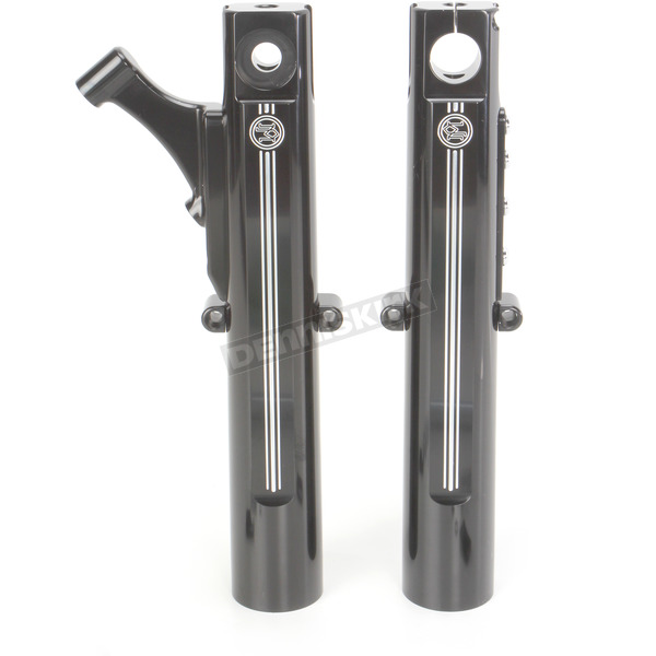 Performance Machine Contrast Cut Single Disc Fork Leg Kit for Radial Mount Caliper - 0208-2059-BM