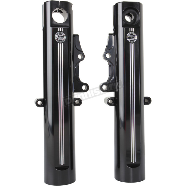Performance Machine Contrast Cut Fork Leg Kit for Dual Disc Brakes - 0208-2096-BM