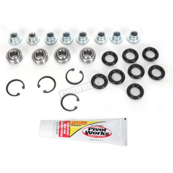 Pivot Works Rear Shock Bearing Kit  (Non-current stock) - PWSHK-P08-000