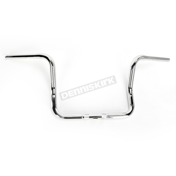 1 1/4 in. Chrome Bagger Apehangers - B12-2001C