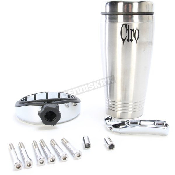 Ciro Cup Holder w/Chrome Perch Mount - 50510