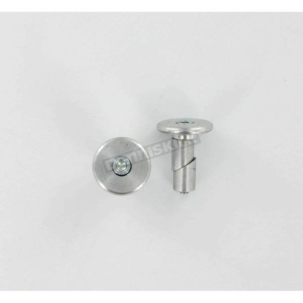 Moose Silver Bar Ends for Aluminum Bars - M03010