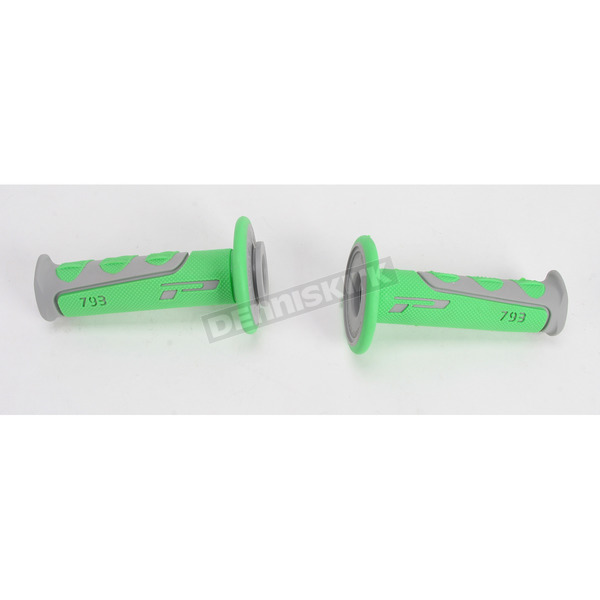 Pro Grip Model 793 Green/Gray Grips - 793GYGN
