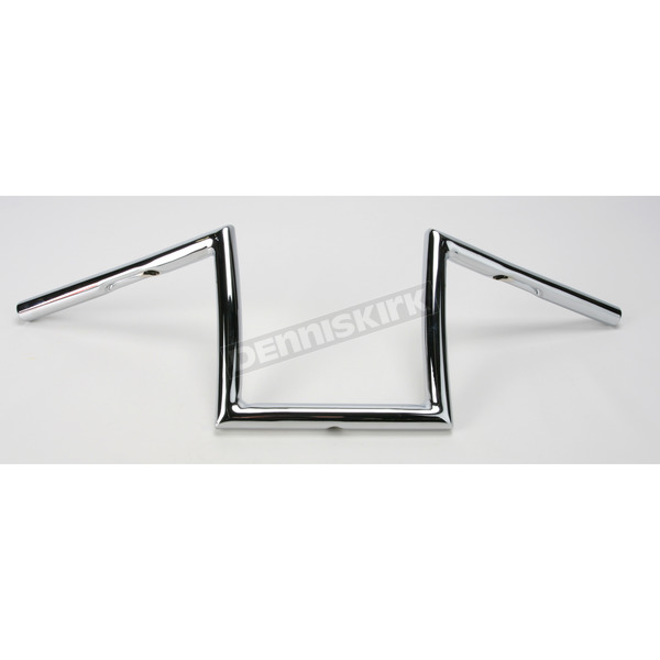 Todd's Cycle Chrome 8 in. Strip Handlebar - SB8-1