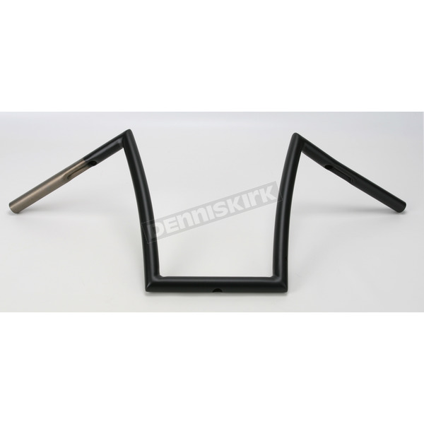 Todd's Cycle Flat Black 12 in. Strip Handlebar - SB12-3
