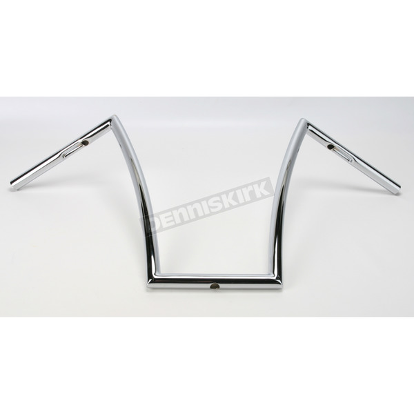 Todd's Cycle Chrome 17 in. Strip Handlebar - SB17-1