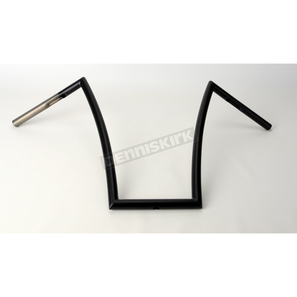 Alloy Art Flat Black 17 in. Strip Handlebar - SB17-3