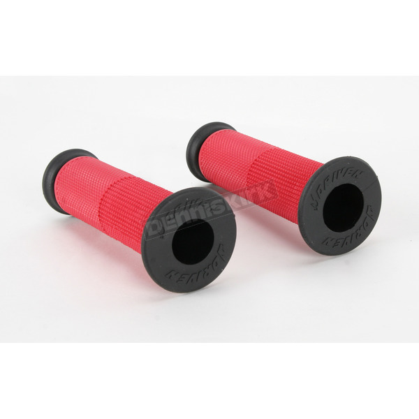 Driven Racing Red Superbike Grips - D091RDO
