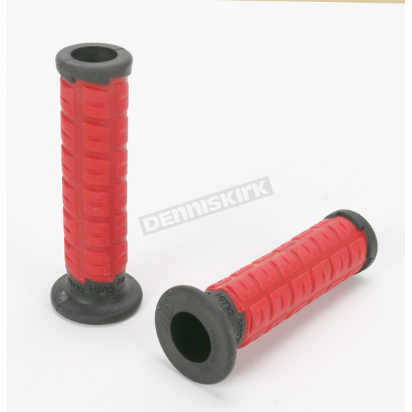 ODI Red/Black Cush Grips - S10CHR