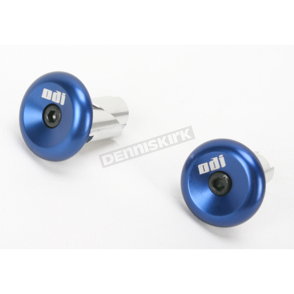 ODI Blue Aluminum End Plugs - F71APU