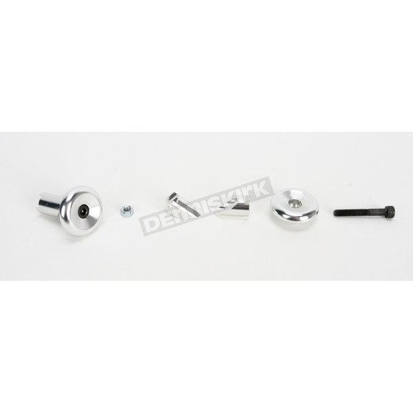 ODI Silver Aluminum End Plugs - F71APS