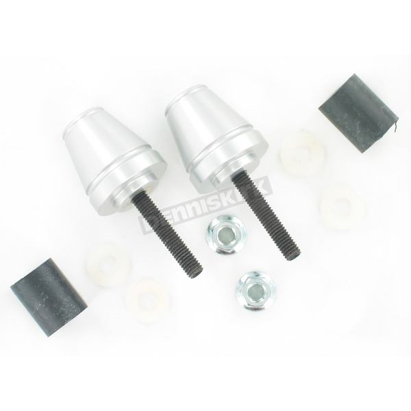 Driven Racing Silver Bar End V2 Weights - DBEW2-SL