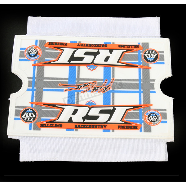 Race Shop Inc. Keith Curtis Cover for Round Bar Pad - BPC-CURTIS