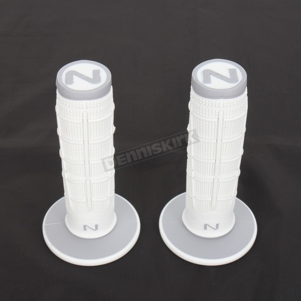 Next Components White/Gray Radial Soft/Hard Compound Grips - RD-101