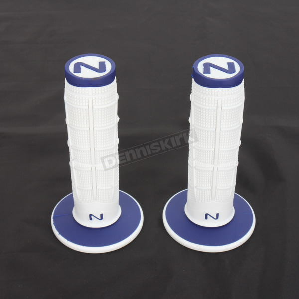 Next Components White/Blue Radial Soft/Hard Compound Grips - RD-103