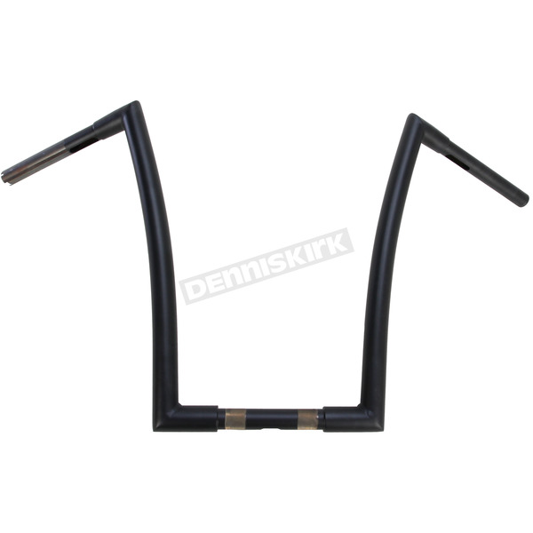 Flat Black 1-1/4 in. Strip Handlebars - 0601-2715