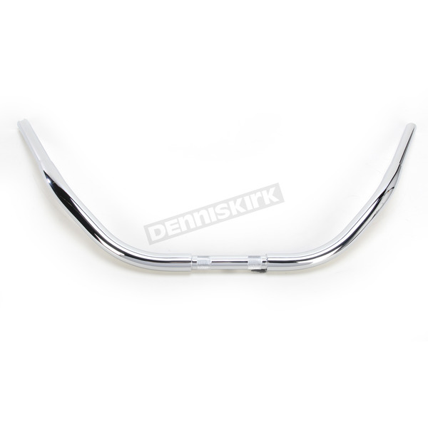 Drag Specialties Chrome Beach Buffalo Hanger Handlebar - 0601-2743